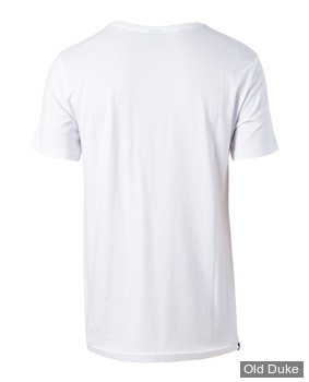 TEE-SHIRT - RIP CURL - VAN ALLOVER TEE - OPTICAL WHITE / BLANC - TAILLE : M