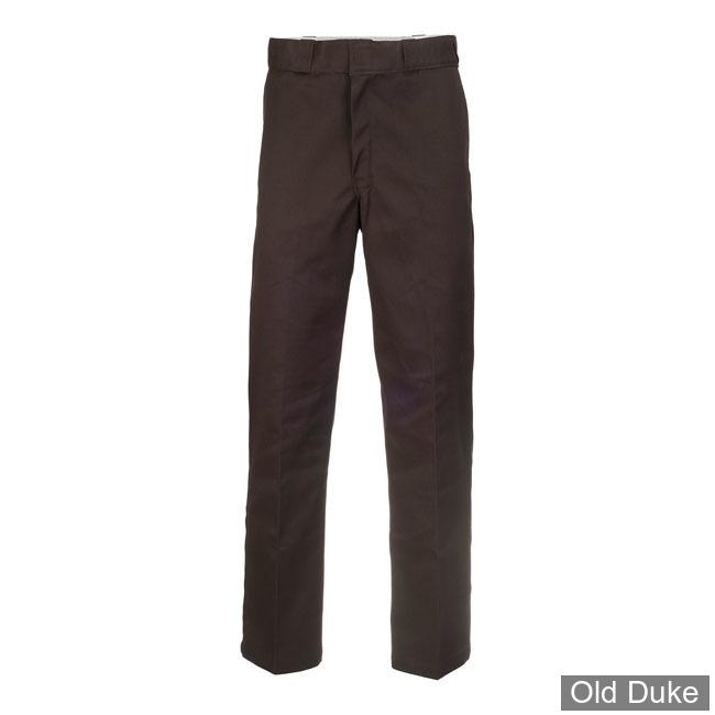 PANTALON - DICKIES - 874 - ORIGINAL WORK PANTS - DARK BROWN / MARRON FONCE - TAILLE : 34 / 32