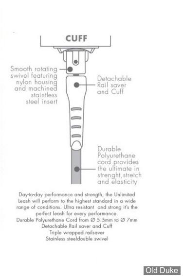 LEASH - LONGUEUR : 9' / DIAMETRE : 7mm - RIP CURL - REGULAR LEASH - BLACK / NOIR