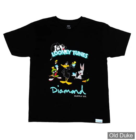 TEE-SHIRT - DIAMOND - DMD X LOONEY TUNES - LOONEY TUNES TEE - BLACK