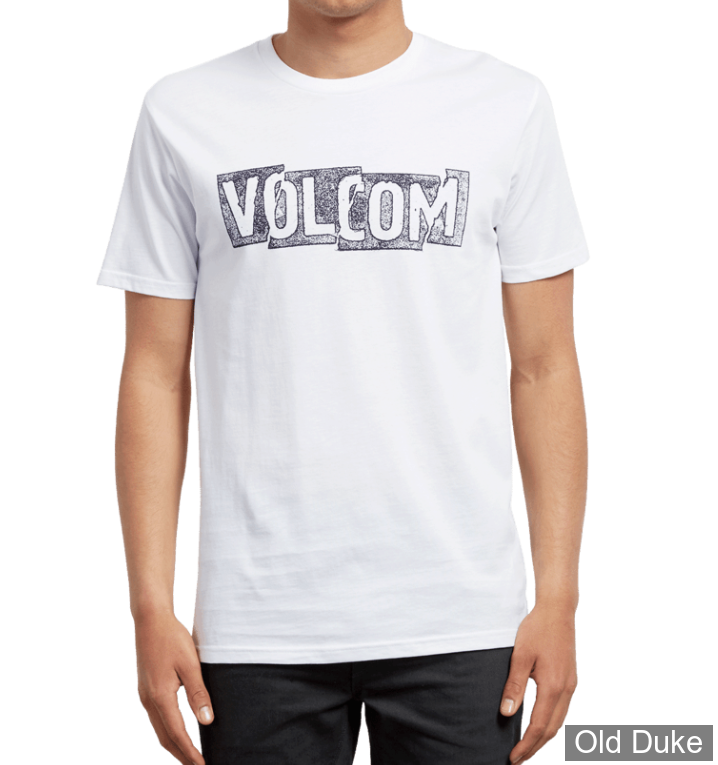 TEE-SHIRT - VOLCOM - EDGE BSC SS - BLANC - TAILLE : S
