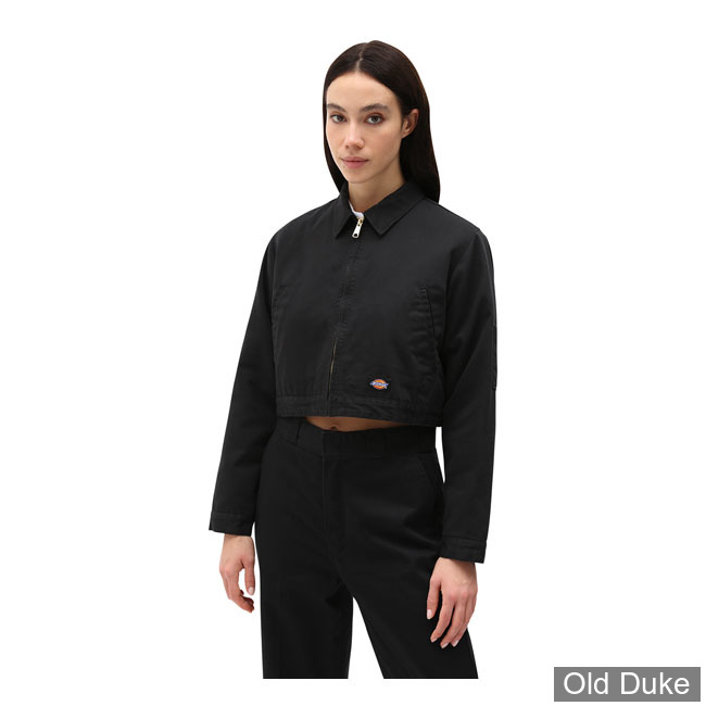 VESTE FEMME - DICKIES - KIESTER LADIES JACKET - BLACK - TAILLE : M