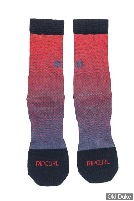 CHAUSSETTES - RIP CURL - YARDAGE SOCKS - POMPEIAN RED - TAILLE : 43 / 45