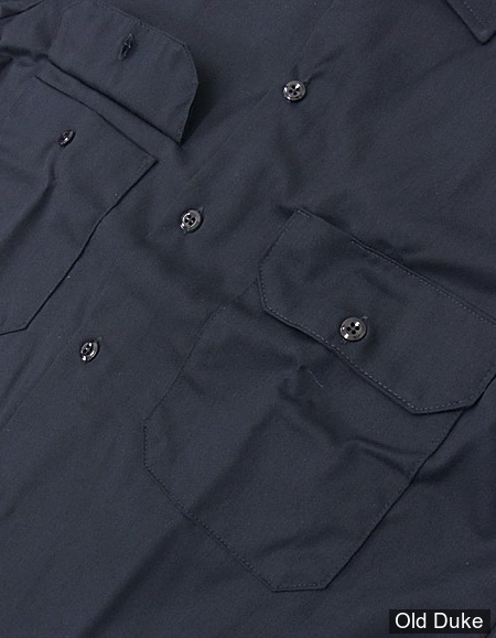 CHEMISE A MANCHES COURTE - DICKIES - SHORT SLEEVE WORK SHIRT #1574 - RELAXED FIT - COULEUR : BLEU MARINE / DARK NAVY - TAILLE : L