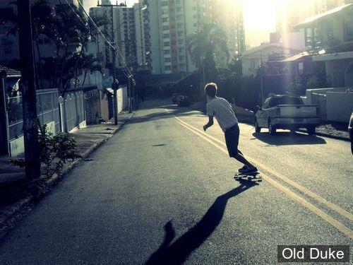 "SKATEBOARD - CRUISER - 9.25"" - CHILLIN' SERIES - MOHAVE 34"" - RED - FLYING WHEELS"