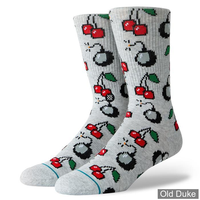 a0b4a6929ddce2 CHAUSSETTES - STANCE - CHERRY BOMB - TAILLE : L ( 43 - 46 )