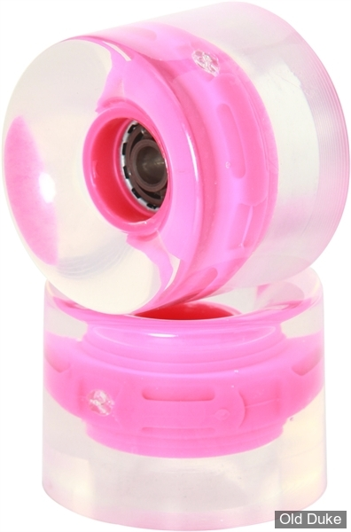 ROUE DE SKATE - D / 59MM - PROHIBITION - LUMINA WHEELS - 82A - ROSE