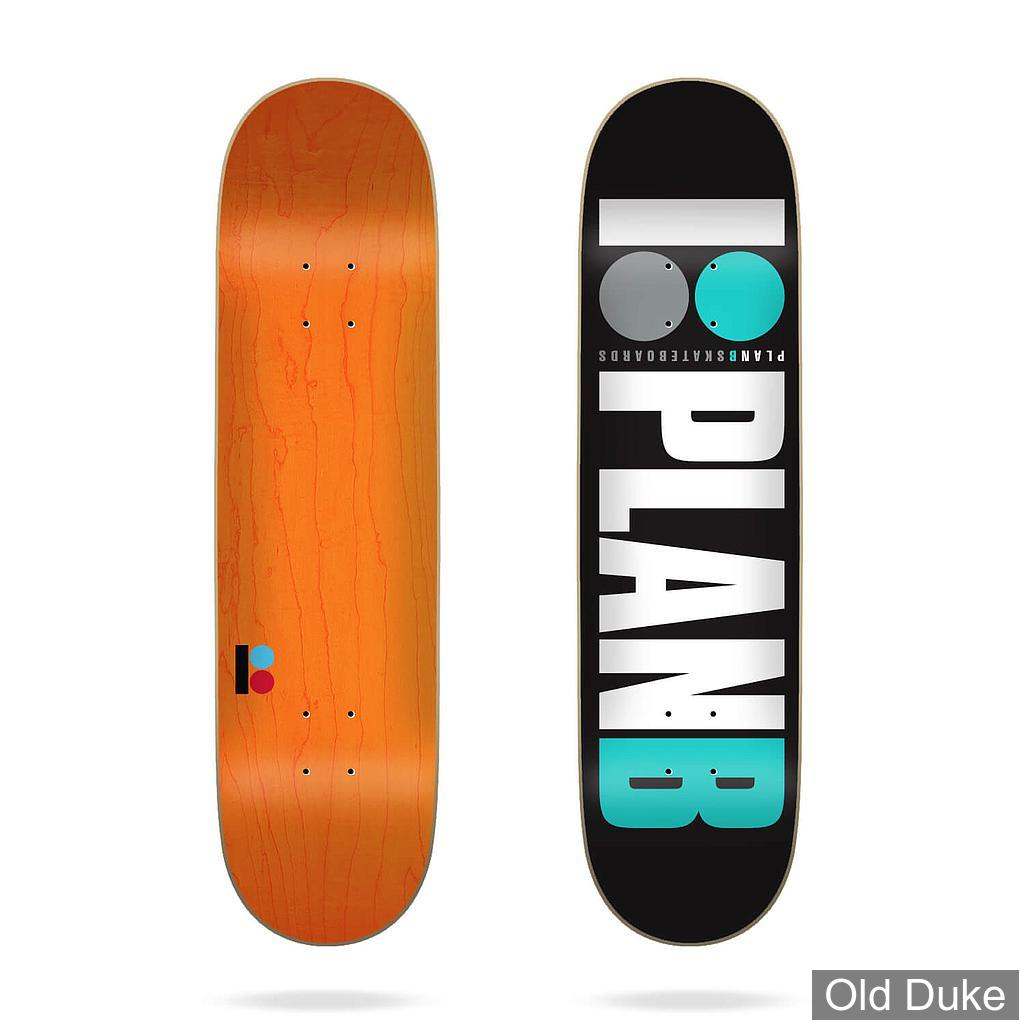"DECK - 7.75"" / 31.62"" - Team Og Teal 7.75""x31.625"" Plan B Deck - PLAN B"