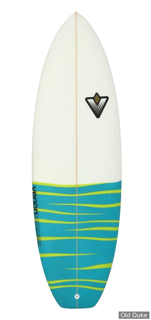 PLANCHE DE SURF - ENFANTS - SHORTBOARD - LONGUEUR : 5'2 - VENON SURFBOARD - POLYESTER - 3 x FCS - YOUNG GUN -