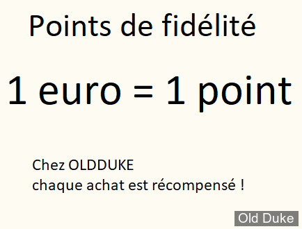 POINT DE FIDELITE
