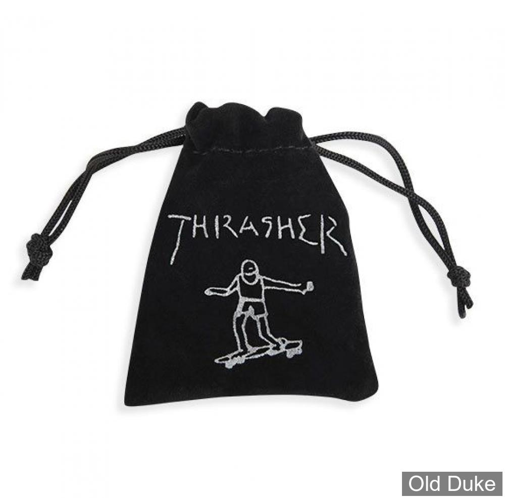 DES - THRASHER - DICE SET - BLACK / NOIR