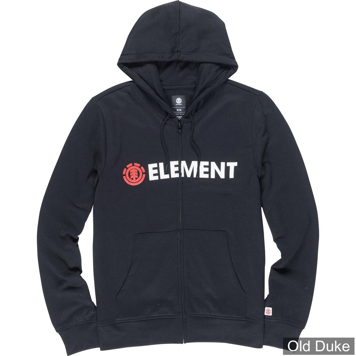 SWEAT SHIRT ZIPPE A CAPUCHE - ELEMENT - BLAZIN ZH - BLACK / NOIR - TAILLE  : S